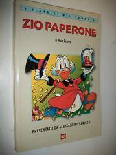 WALT DISNEY:ZIO PAPERONE.I CLASSICI DEL FUMETTO BUR 2000 PRIMA EDIZIONE.BARICCO!