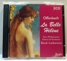 Offenbach: La belle H'lŠne (CD, Apr-2003, 2 Discs, Regis Records) (cd6562)