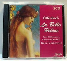 Offenbach: La belle H'lŠne (CD, Apr-2003, 2 Discs, Regis Records) (cd6562)