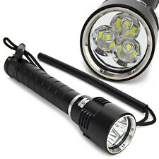 Neu Diving 3x CREE XML L2 4800Lm LED Taschenlampe Tauchlampe bis 100m Flashlight