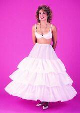 4 Bone Cotton Hoop Skirt Wedding Slip Bridal Petticoat