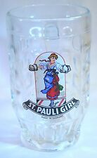 Beer Mug with St. Pauli Girl German Beer Logo .25L made in Italy