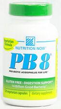 PB 8 Pro-Biotic Acidophilus Vegetarian, Nutrition Now, 60 capsules