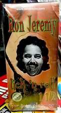 Ron Jeremy - Cigarette Rolling Papers Sealed Box RARE