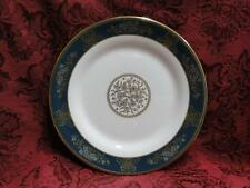 """Wedgwood Agincourt Blue & Gold, R4513, Blue Band: Salad Plate (s), 8 1/8"""""""