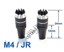 1Set M4 Thumb Stick Upgrade for JR Transmitter, Black US TH016-03001E