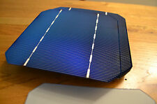 "Grade A 125mm 5""  Monocrystalline Bare Solar Cells for DIY 17.5% efficient"