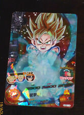 DRAGON BALL Z GT DBZ HEROES GALAXY MISSION PART 2 CARD PRISM CARTE HG2-14 SR M