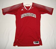 Adidas Indiana Hoosiers Blank Sleeved Game Jersey XL +2 Team Issue Pro Cut Worn