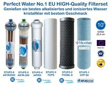 """Perfect Water No.1 Filterset 10"""" Osmoseanlage Ultimate PLUS PRO Side Stream"""