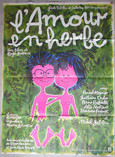 Affiche L'AMOUR EN HERBE Roger Andrieux PASCAL MEYNIER Guilhaine Dubos 120x160