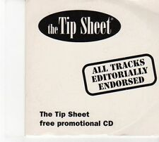 (DW670) The Tip Sheet, Issue 398, 12 tracks various artists - 2001 DJ CD