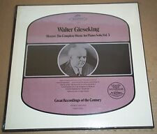 Gieseking MOZART Complete Music for Piano Solo Vol.3 - Seraphim ID-6049 SEALED
