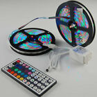 10M 3528 RGB SMD 600LEDS 2X 5M led light strip + 44 Keys IR Remote Controller