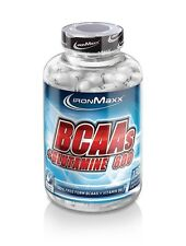IronMaxx BCAAs + Glutamine Container with 130 Capsules ( pro 3.5oz)