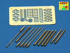 MESSERSCHMIT Bf-110 ARMAMENT SET (MG FF/M, MG 17, MG 15 BARRELS)#32110 1/32 ABER