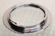 Silver color C/Y CY Contax Yashica Zeiss lens to Canon EOS EF Mount Adapter Ring