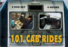 101 Cab Rides 2 DVD Set Multiple Countries & Railroads NEW Diesel Steam Electric