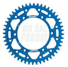YAMAHA YZF 250 01-ON Supersprox Motocross Rear Aluminium Sprocket Blue 50 Teeth