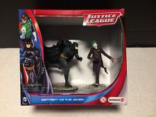 New Schleich Justice League BATMAN VS. THE JOKER Action Figures!
