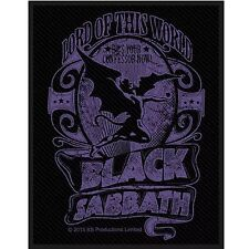 Black Sabbath Lord Of This World Patch Official Metal Rock Band Merch New
