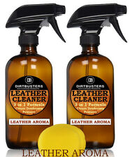 Professional leather cleaner with leather aroma trade solution 2 X 500ml
