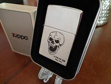 TRUSS ME SOHO NYC COLLECTION LIMITED EDITION SKULL FANGS ZIPPO LIGHTER MINT 1998