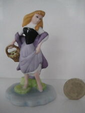 GROLIER PORCELAIN DISNEY FIGURE FIGURINE MINIATURE ORNAMENT SLEEPING BEAUTY