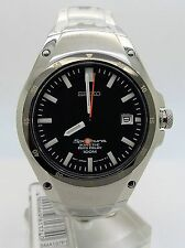 SEIKO Sportura Kinetic Auto Relay 5J22-0D30 Ref: SMA137P1 New Old Stock