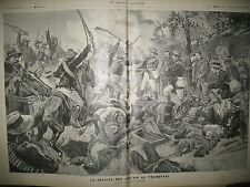 TRANSVAAL BOËRS DEFAITE DES ANGLAIS GENERAL DE SAINT-GERMAIN GRAVURES 1896