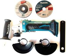 "New Makita BGA452 Cordless Battery Angle Grinder 4 1/2"" 18V 18 Volt LXT Cut-Off"