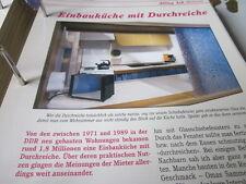 Das war die DDR Alltag Einbauküche mit Durchreiche