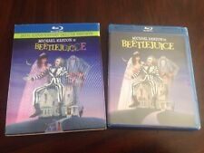 Beetlejuice Blu-ray 20th Anniversary Deluxe Edition w/ OOP Lenticular Slipcover!