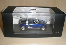 Smart Roadster Coupé blau (star blue) in 1:43 von Minichamps