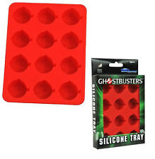 Ghostbusters: Classic Logo Ice Cube / Jelly Mould Tray - New & Official In Pack