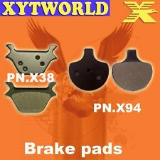 FRONT REAR Brake Pads for Harley Davidson FXDX Super Glide Sport 1999