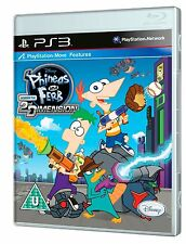 Phineas and Ferb Across the 2nd Dimension Sony PlayStation 3 PS3 Brand New