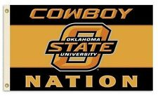 Oklahoma State Cowboys Flag Banner, Orange 3' X 5' Sturdy Nylon, FREE Shipping