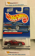 Mustang Cobra * RED * 2000 Hot Wheels * H23
