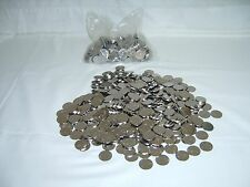 350 STAINLESS NON-MAGNETIC SKILL SLOT MACHINE TOKENS HOME / ARCADE PACHISLO