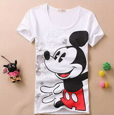 new type cute cartoon summer short sleeve T-shirt - Mickey Mouse