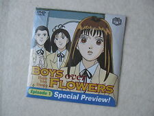 "KAMIO ANIME ""BOYS OVER FLOWERS"" NEWSEALED EPISODE 1 VIZ PROMOTIONAL PREVIEW DVD"