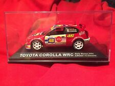 Mint condition Toyota Corolla WRC 1:43 Scale diecast model Rally Car #56