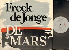 FREEK de JONGE de MARS 2 LP 1982