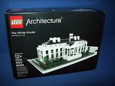 21006  LEGO ARCHITECTURE - THE WHITE HOUSE 560pc NIB In Hand NEW HTF