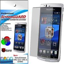 5 Pz Pellicole Per Sony Ericsson Xperia ARC X12 Proteggi Schermo LCD Pellicola