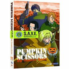 Pumpkin Scissors . The Complete Series . Anime . 4 DVD . NEU . OVP