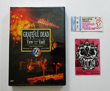 Grateful Dead View from the Vault I One 1 DVD Ticket Backstage Pass Pittsburgh