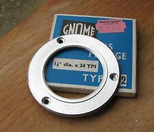 """1.5""""   thread enlarger lens  flange attachment  59mm diameter Aluminium"""