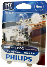 Philips H7 12V 55W PX26d Racing Vision +150%  UK ref: 477   1 Stk. 12972RVB1